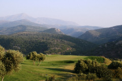 ...practise your swing at the nearby Creta Golf Club...