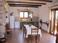 Villa Irini's well-equipped kitchen