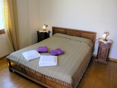 Double bedroom in Villa Kalithea