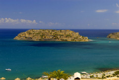 Spinalonga Island, the one-time leper colony near Elounda